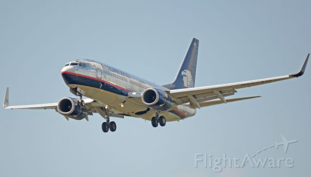 Boeing 737-700 (N857AM) - Imaged on 4/9/12