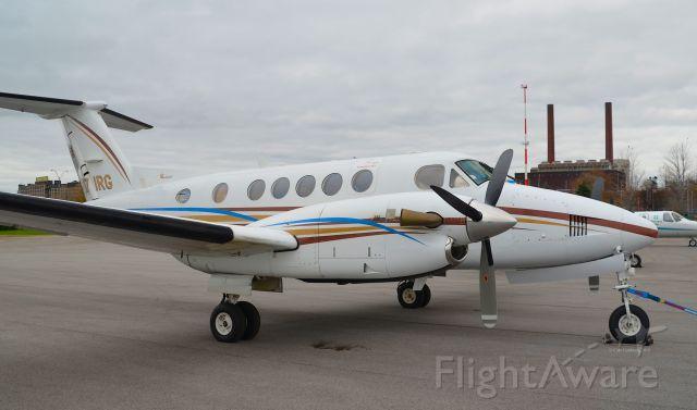 Beechcraft Super King Air 200 (N71RG) - N71RG seen at KBKL. Please look for more photos at Opshots.net