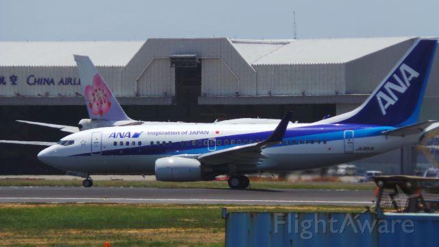 Boeing 737-700 (JA18AN) - 2015/05/18 台灣桃園國際機場(TPE) 12:37(UTC+8) NH9416便(TPE-HND) B737-700 JA18AN