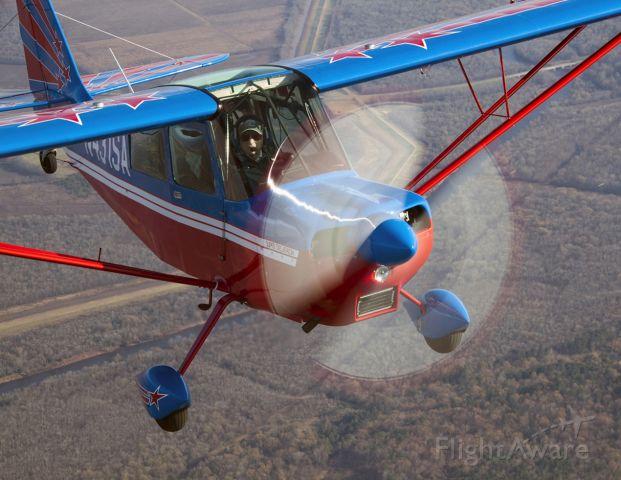 CHAMPION Decathlon (N431SA) - Airshow legend Marion Cole celebrates his 85th birthday flying the Super Decathlon