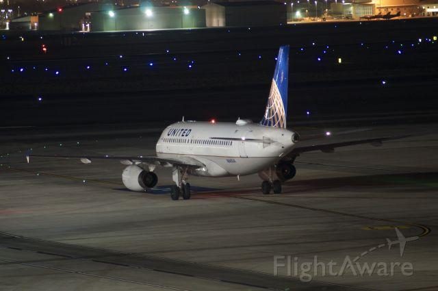 Airbus A319 (N840UA) - Best viewed in full.