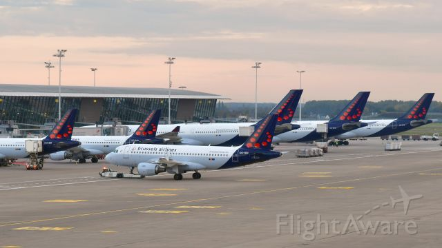 Airbus A319 (OO-SSI) - Brussels Airlines Airbus A319-112 OO-SSI in Brussels
