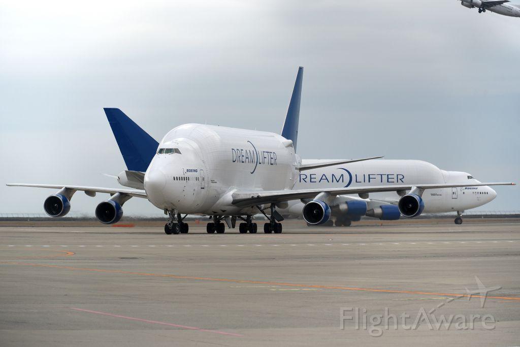 Boeing 747-400 (N780BA) - 2BLCF  N780BA & N718BA