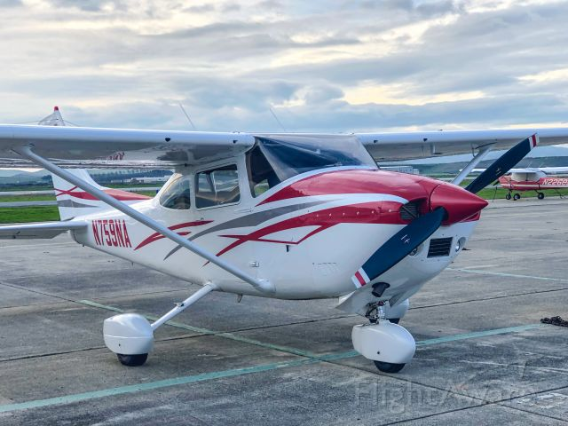 Cessna Skylane (N759NA) - December day on the ramp at Hollister, CA. (KCVH)