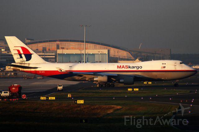 Boeing 747-400 (9M-MPR) - old dirty Jet