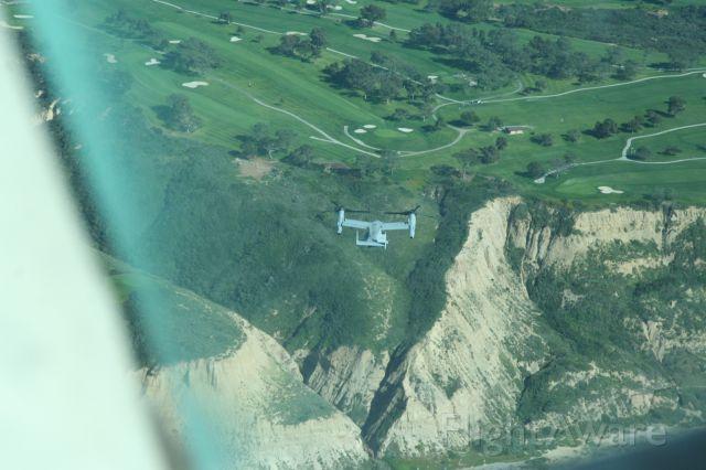 Bell V-22 Osprey — - V-22 off Torrey Pines, CA Visual Separation