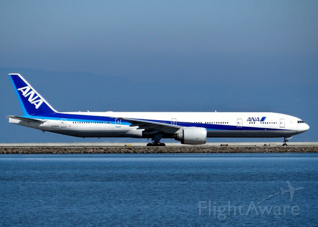 BOEING 777-300 (JA789A) - ANA 777-300 Taxiing at SFO