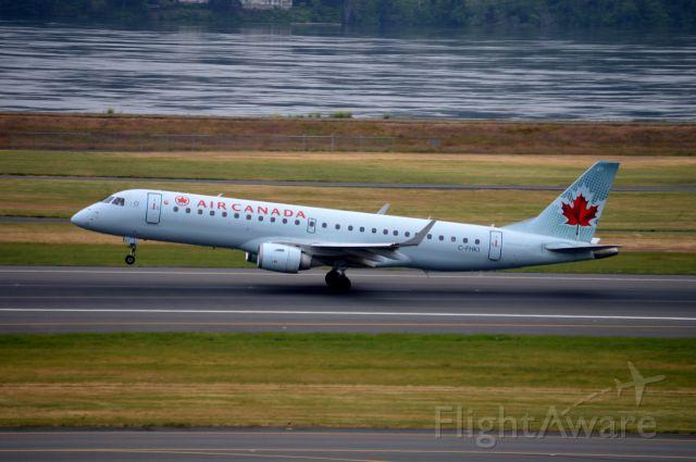Embraer ERJ-190 (C-FHKI) - ACA546 departing on 28R for Toronto Pearson (CYYZ/YYZ).