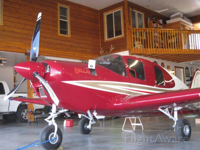 N470CM — - N470CM safely in her new hangar / home