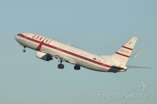 VH-VXQ — - Early morning take off from Rw 23