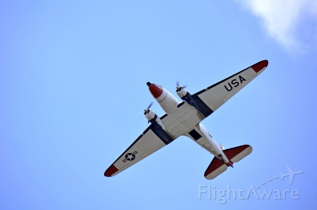 Douglas DC-3 (N737H) - Airborne Imaging