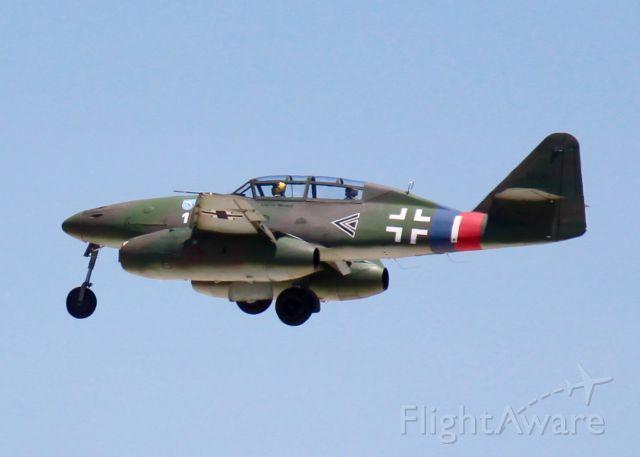 MESSERSCHMITT Me-262 Replica (N262AZ) - At Barksdale Air Force Base. 2002 Messerschmitt Me-262B-1C Schwalbe Replica