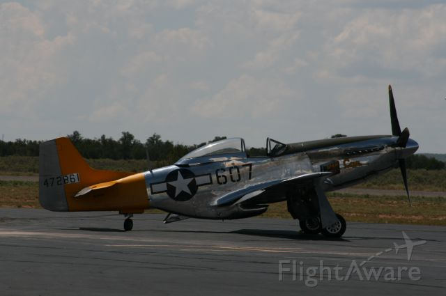 """North American P-51 Mustang (N5441V) - Thunder Over the Coconino VIII, Valle, AZ, 25 Aug 12; """"Spam Can"""""""