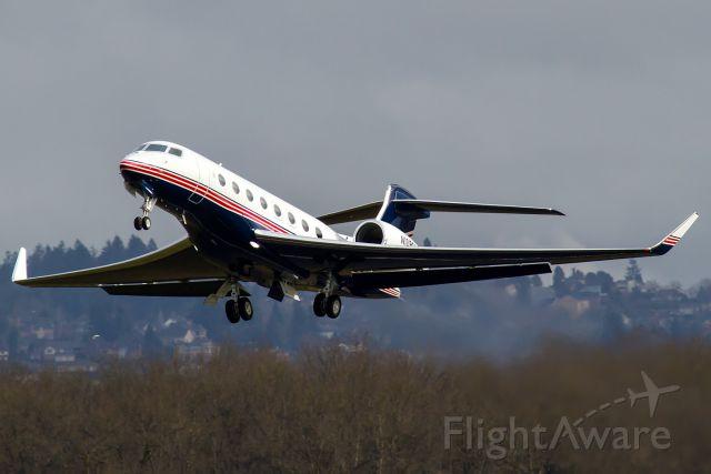 Gulfstream Aerospace Gulfstream G650 (N108DB) - TWY128