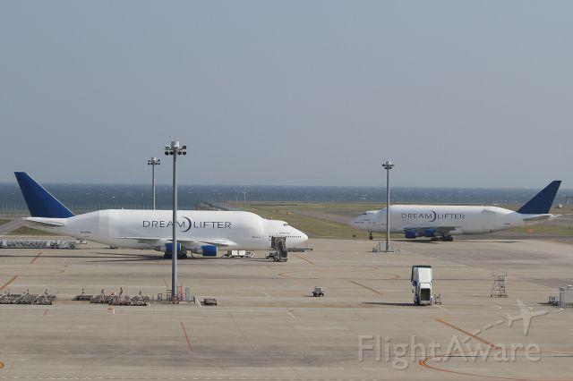 Boeing 747-400 (N747BC) - N747BC&N718BA