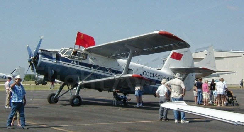 Antonov An-2 (N2445) - At the 2006 Annual Midlothian Pancake Breakfast.