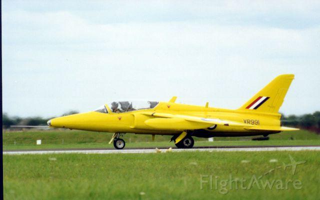 Hawker Siddeley Gnat (XR991) - Air fair 1998
