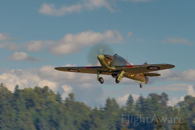 Boeing Goshawk (N5429) - Hawker Hurricane