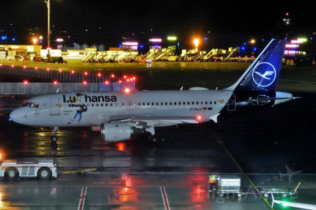 Airbus A319 (D-AILU)
