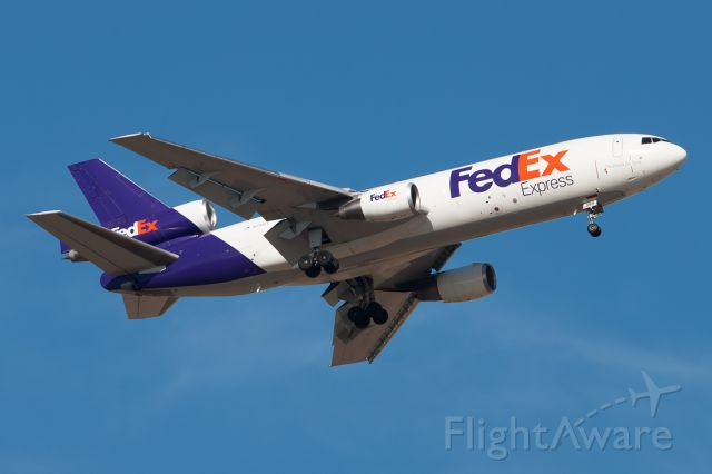 """McDonnell Douglas DC-10 (N394FE) - FedEx DC-10 coming into KDEN this afternoon 5.3.2014 """"All rights Reserved"""""""