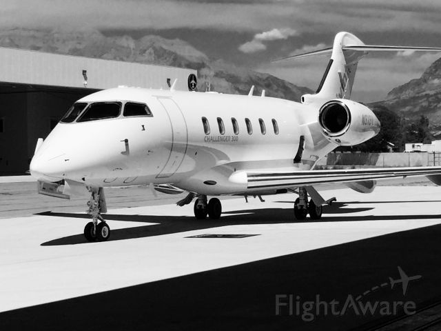 Bombardier Challenger 300 (N313V) - Waiting.......