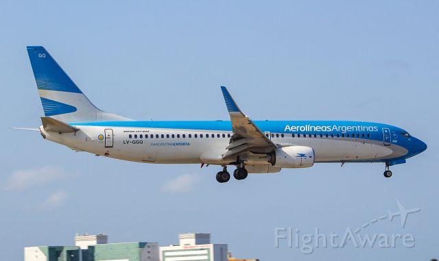 Boeing 737-800 (LV-GGQ) - BOEING 737-8HX(W)