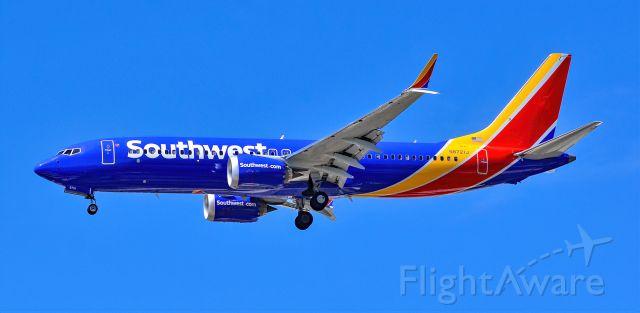 Boeing 737 MAX 8 (N8721J) - N8721J Southwest Airlines Boeing 737-8 MAX s/n 42548 - Las Vegas - McCarran International Airport (LAS / KLAS)<br />USA - Nevada April 30, 2021<br />Photo: Tomás Del Coro