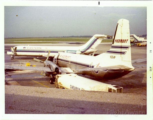 — — - Another shot of a PI YS-11 at the ATL concourse in 1974.
