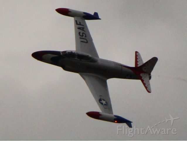 Lockheed T-33 Shooting Star — - Rocky Mountain Air Show