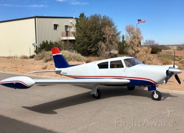 Piper PA-24 Comanche (N250GB) - Back home after trip to the paint shop.