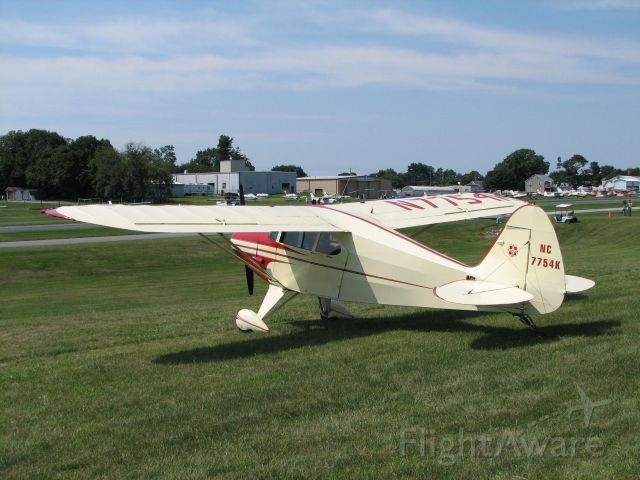 Piper PA-20 Pacer (N7754K)