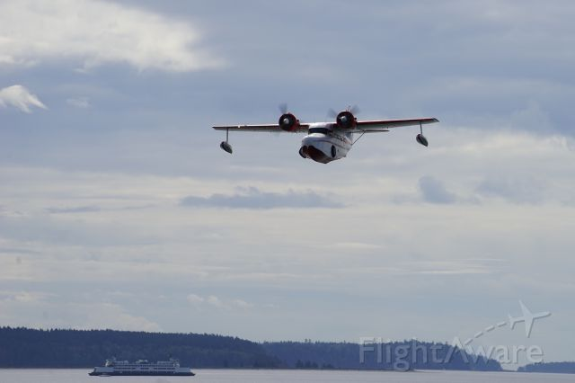 Grumman Goose (C-GYVG) - From our living room