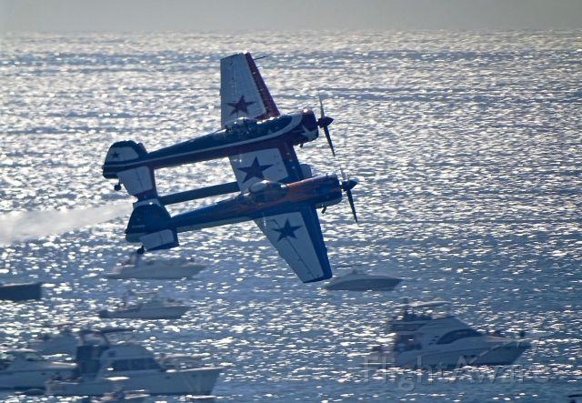 N110JY — - YAK 110 at Huntington Beach Airshow