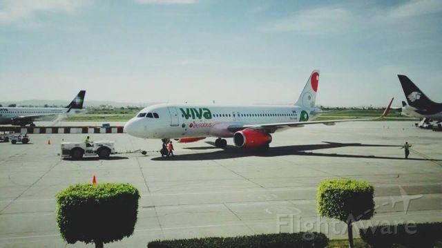 Airbus A320 (XA-VAN)
