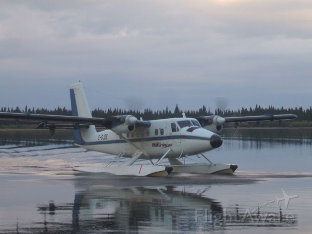 C-GJDE — - Taxiing to the Floating dock at Otter Creek near Goose Bay NL