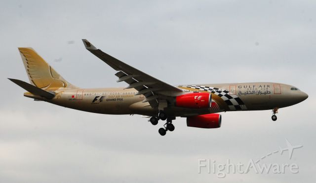 Airbus A330-300 (A9C-KB) - Taken from T5 landing on 09L