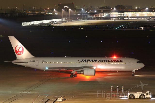 BOEING 767-300 (JA8398) - 10 October2015: