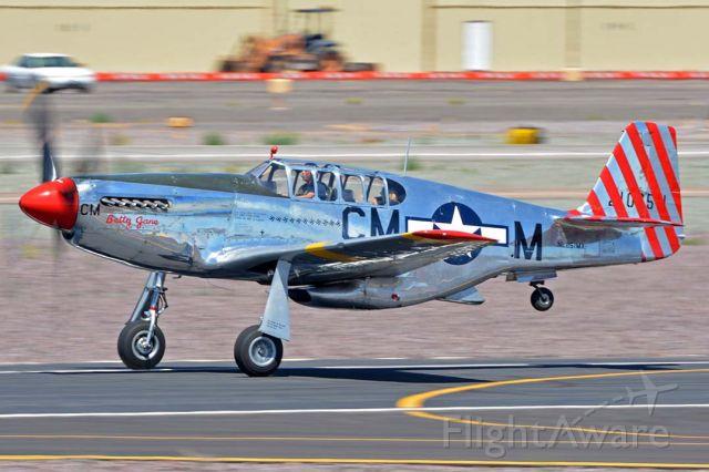 North American P-51 Mustang (NL251MX) - North American TP-51C-10 Mustang NL251MX Betty Jane at Deer Valley, Arizona on April 13, 2016.