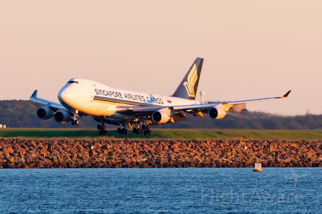 Boeing 747-400 (9V-SFK) - SQ7286 / SIA7286 fr. SIN Singapore 10/01/2021 YSSY
