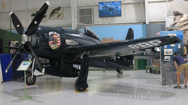 Grumman G-58 Bearcat (N700A) - On display at the Palm Springs Air Museum.