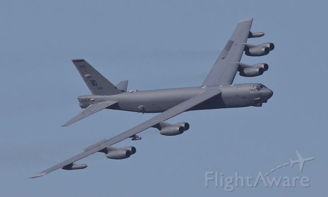 Boeing B-52 Stratofortress (60-0035) - Not many 58 year olds that look this fine! This Buff rolled off the assembly line back in 1960 but still looks right at home in the sky