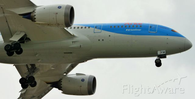 Boeing 787-8 (PH-TFM) - TFL has the 2nd 787 service to KMIA after LAN.  Arke received this 787  last month.
