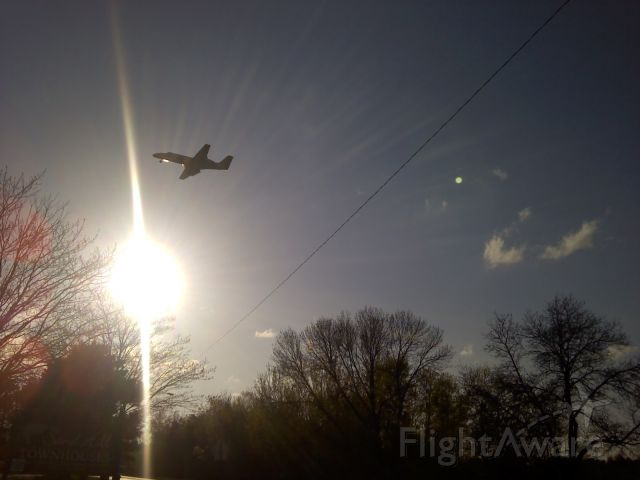 Cessna Citation V (N569TA) - 5/25/12 ~5pm