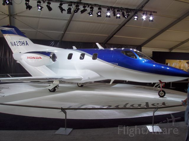 Unknown/Generic Undesignated (N420HA) - HondaJet Display at Airventure 2008