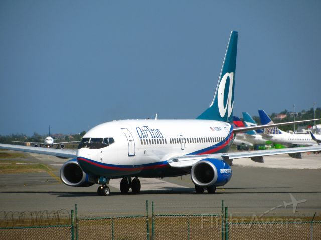 Boeing 737-700 — - Sangster International Airport
