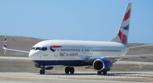 Boeing 737-700 — - British Airways Boeing 737-800 taking off.