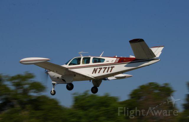 Beechcraft 35 Bonanza (N771T) - Return from Wednesday Breakfast Apr 2014