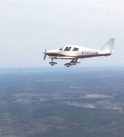 N193DW — - Flight over texas.