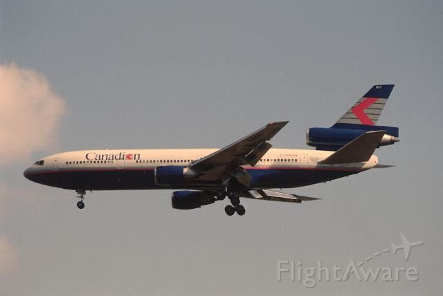 McDonnell Douglas DC-10 (C-GCPI) - Final Approach to Narita Intl Airport Rwy34 on 1989/03/19