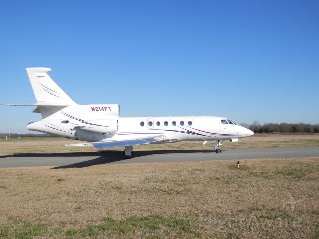 Dassault Falcon 50 (N214FT) - SENATOR TED CRUZ DEPARTING PERRY GA. GOD SPEED AND TAILWINDS TO YOU SIR